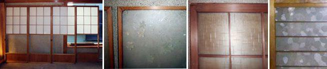 古建具・古ガラス・ブロカント・アンティーク・昭和レトロガラスのイメージ